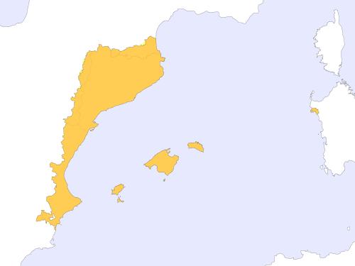 Dominio lingüistico del catalán